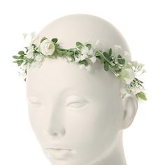 Apparel Accessories Hair Accessories Girls Headbands Rose Flowers Crown Wedding Hair Accessory Floral Garlands Headband For Women Headwear Unequal In Performance