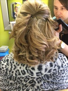 Mother of the brides hair