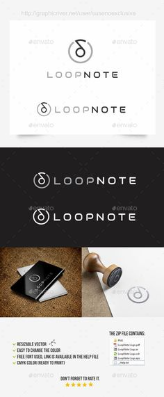 Music Note Logo  #infinity #logo #loop • Available here → http://graphicriver.net/item/music-note-logo/10018752?s_rank=82&ref=pxcr