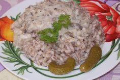 Перловка с грибным соусом http://citywomancafe.com/cooking/05/07/2016/perlovka-s-gribnym-sousom