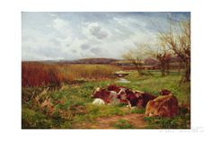 In the Meadow Giclee Print by Charles James Adams at AllPosters.com