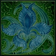 Image result for art nouveau flower
