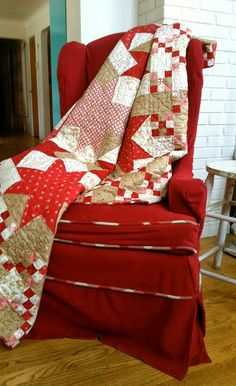 A look at Midwinter Reds by Minick & Simpson for Moda Fabrics