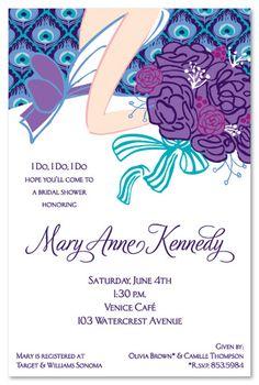 Bridal Shower invite idea