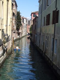 Waterways in Venice