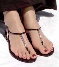 Hübsche Fuß sexy Zehe