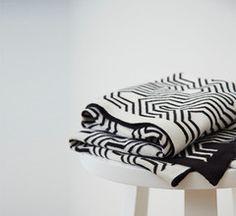 geometric blanket by Kate + Kate