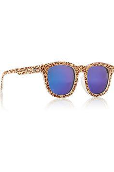 NET A PORTER Noddy mirrored D-frame acetate sunglasses