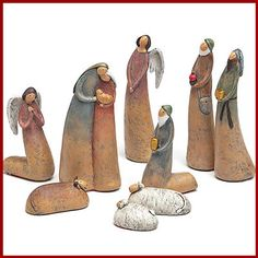 Christmas Nativity - Holy Family Nativity Set
