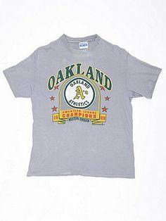Vintage Oakland A's American League Champions T-shirt | American Apparel