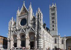 Siena's Duomo.  Pretty big church in Italy!