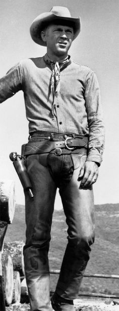 Steve McQueen as Vin Tanner in The Magnificent Seven, 1960.