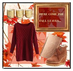 """""""Here come the Fall leaves..."""" by zzwieglinska on Polyvore featuring Kate Spade, See by Chloé, Chicwish and Illume"""