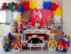 - Victoria Decoração Infantil -: Circo - Diogo