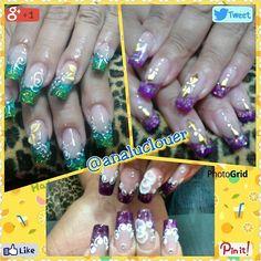 Tecnica de Reversa #nailsfashion  #instanails  #uñasbonitas  #nailsbellas #nails  #analuclouer  #nails #nailsart