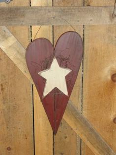 Large Prim Heart With Star