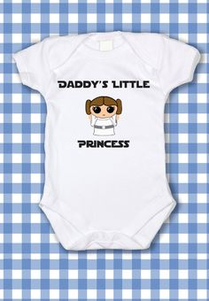 Adorable Star Wars Princess Leia Daddy's Little