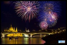 St. Stephen's Day, 20th of August | Budapest Fireworks #Budapest