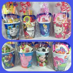 Pre Filled Party Bags / Pre Filled Party Cup Gifts/ Party Favors - 25+ Designs in Home, Furniture & DIY, Celebrations & Occasions, Party Supplies | eBay!