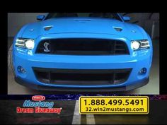 2014 Mustang Dream Giveaway -Win 2 Shelby GT500 Mustangs +50K For Taxes!