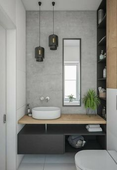 Gorgeous 60 Modern Farmhouse Small Bathroom Remodel Decor Ideas High-design fads not just look stunning however include worth to your bathroom remodel. Right here are our preferred bathroom renovation ideas to include currently. Bad Inspiration, Interior Design Inspiration, Bathroom Inspiration, Bathroom Ideas, Design Ideas, Bathroom Remodeling, Budget Bathroom, Bathroom Designs, Remodeling Ideas