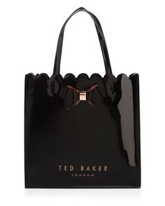 8126c1cacf961 Ted Baker Scallop Bow Large Icon Tote Handbags - Bloomingdale s