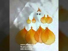 How to make goldfish by www.ployandpoom.com - YouTube Nylon Flowers, Nylon Stockings, Goldfish, Flower Crafts, Quilling, Creative Ideas, How To Make, Beautiful, Youtube