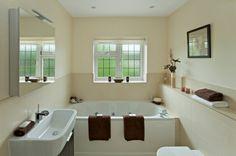 Cream color bathroom - Google search