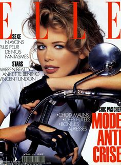 Claudia Schiffer at French ELLE #90s