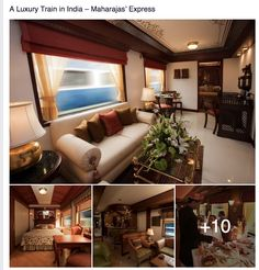 A Luxury Train in India – Maharajas' Express