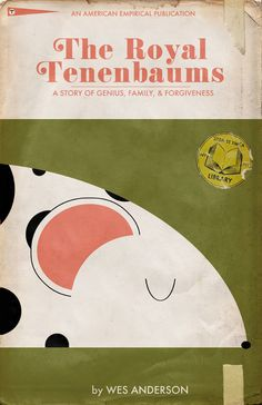 The Royal Tenenbaums - movie poster - TrevorDunt