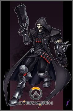 ArtStation - Reaper - Overwatch , William Puekker