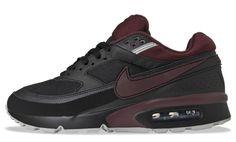 Nike Air Max Classic BW Textile - Black / Deep Burgundy