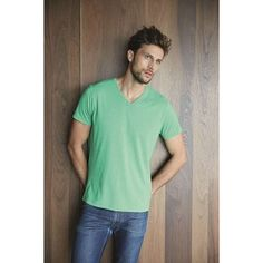 V-Neck Short Sleeve Melange T-Shirt - 65% polyester / 35% cotton. Melange jersey fabric. Fitted style. Ideal for sublimation printing. Taped neck and rib at neck. Size tag only at back neck for easy re-labeling.  Machine Wash,Cold (30°C), Do Not Tumble Dry, Iron, Low, Do Not