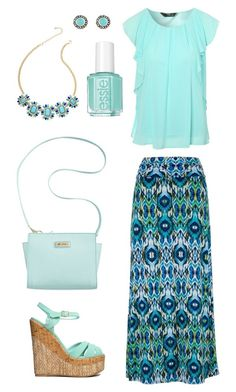 """""""Blue without you"""" by lizardbeth95 ❤ liked on Polyvore featuring Qupid, Marc Fisher, Jane Norman, Accessorize and Essie"""