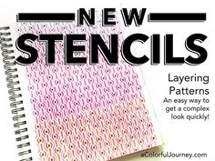 Video showing how to quickly and easily create detailed patterns with Layer Me stencils from StencilGirl Products!