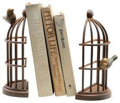 15 aparadores para segurar os livros com estilo - Casa