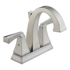 Delta 2551LF-SS Dryden Two Handle Centerset Lavatory Faucet Brilliance Stainless