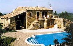Stunning Provencale Farmhouse With Private Pool In Salazac Vacation Rental in Salazac from Private Pool, Home And Away, Villas, Provence, Castles, Abandoned, Swimming Pools, Faces, Farmhouse