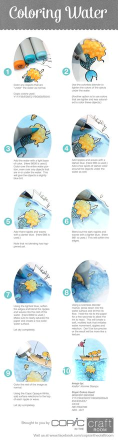 Brought to you by Copic In The Craft Room! Learn how to color water in this…                                                                                                                                                                                 More