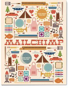 Mailchimp coloring book. So cute!