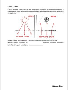 """""""IL MARE"""" GEOGRAFIA CLASSE TERZA Problem Solving, Chart, Thoughts, Blog, 3, Anna, Kids, Young Children, Children"""