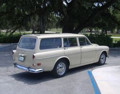 We posted a rather nostalgic look back at a Volvo wagon just yesterday and then this beautiful precursor popped up. We are just enamored with the Volvo It is one of the most significant… Volvo Wagon, Volvo Cars, Retro Cars, Vintage Cars, Station Wagon Cars, Driving Miss Daisy, Volvo 240, Custom Big Rigs, Bmw Series