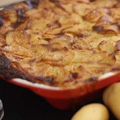 Gratin dauphinois simplissime Best Scalloped Potatoes, Vegetable Dishes, Mashed Potatoes, Pork, Appetizers, Beef, Ethnic Recipes, Desserts, Vinaigrette