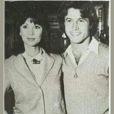 Andy Gibb and Victoria Principal.
