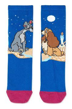 Disney Lady And The Tramp Socks