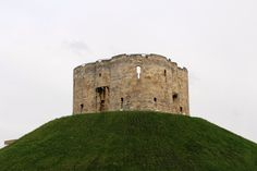 Clifford's Tower, York castle, Yorkshire