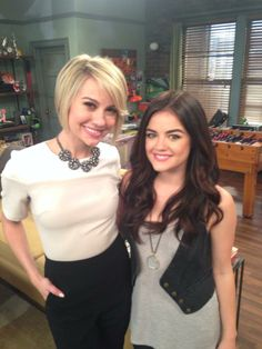 Lucy Hale and Chelsea Kane from Baby Daddy