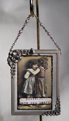 Altered photo frame