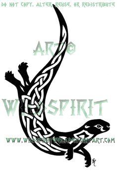 Celtic otter tat